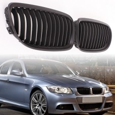 МАТОВАЯ решетка радиатора (ноздри) BMW E90, E91 (2009-2011) 51137201969 51137201970  HIGH QUALITY Poland