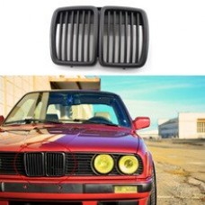 МАТОВАЯ решетка радиатора (ноздри) BMW E30, M40 51131884350 HIGH QUALITY POLAND