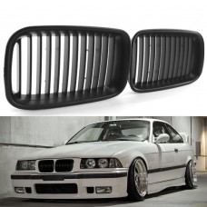 МАТОВАЯ решетка (ноздри) радиатора  BMW E36 318, 328 HIGH QUALITY POLAND